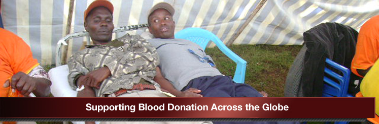 Suporting Blood Donation across the Globe
